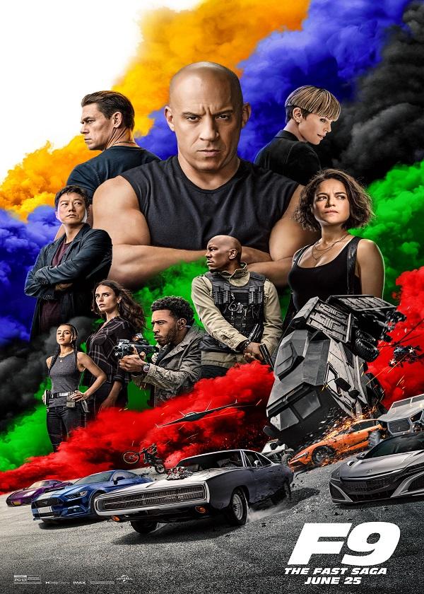Watch English Movie F9: The Fast Saga on OKDrama